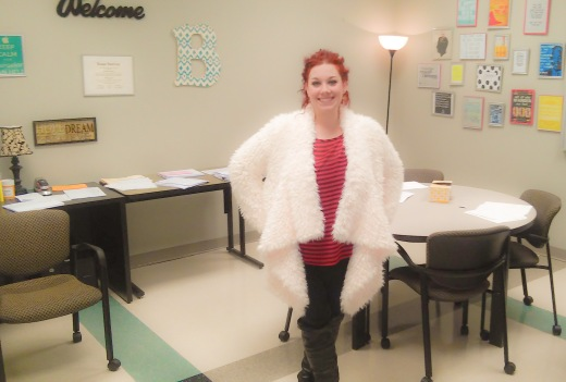 Middle College Counselor Bekah Bartels brings a dynamic fashion flair to the hallways of Ozarks Technical Community College.